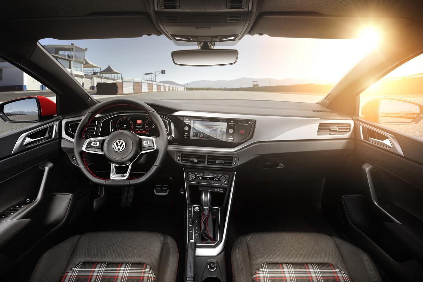 Interior del Polo GTI Volkswagen