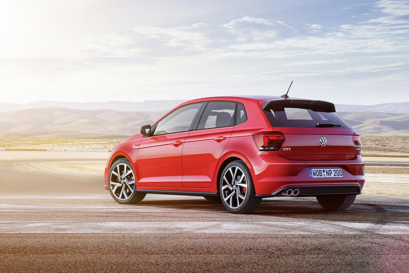 Parte trasera del Polo GTI Volkswagen