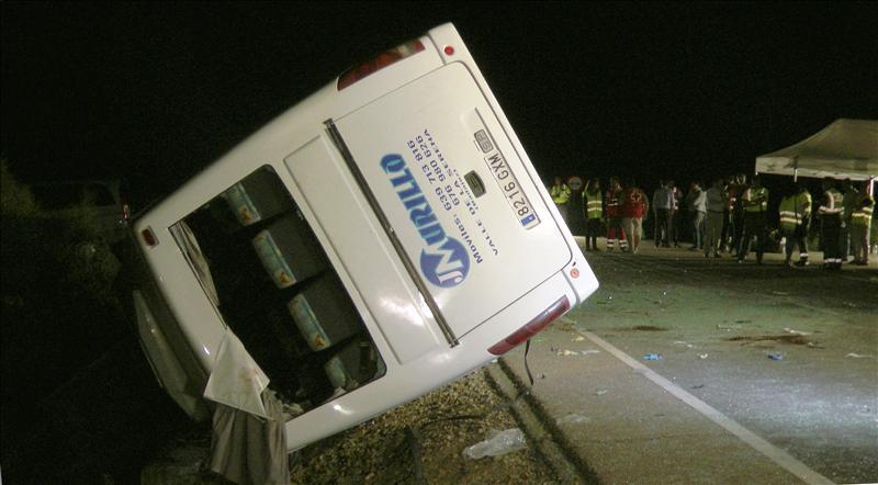 En libertad el conductor de la retroexcavadora implicado en un accidente con 5 muertos