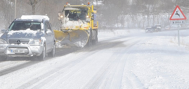 Cómo conducir sobre nieve