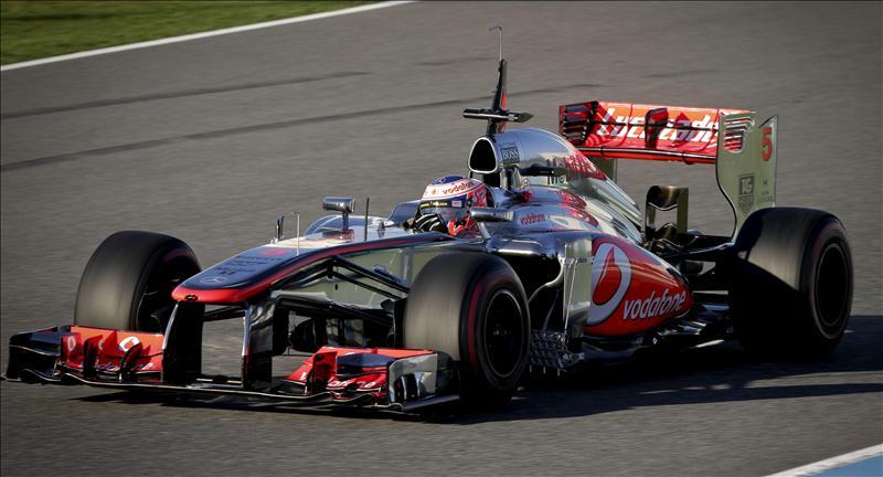 Button (McLaren), el mejor en la primera jornada de pruebas en Jerez