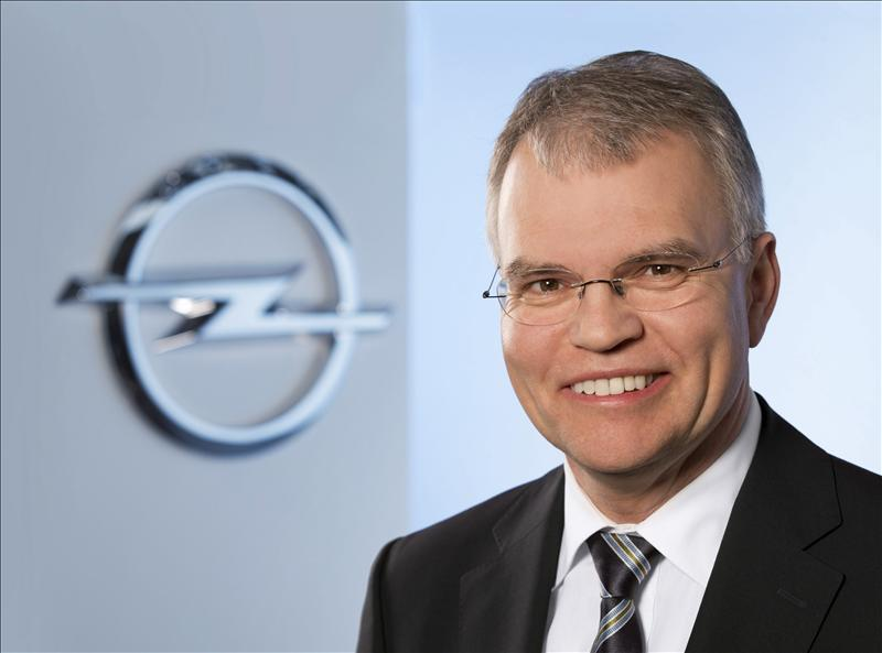 Opel nombra a Ulrich Schumacher nuevo director de Personal