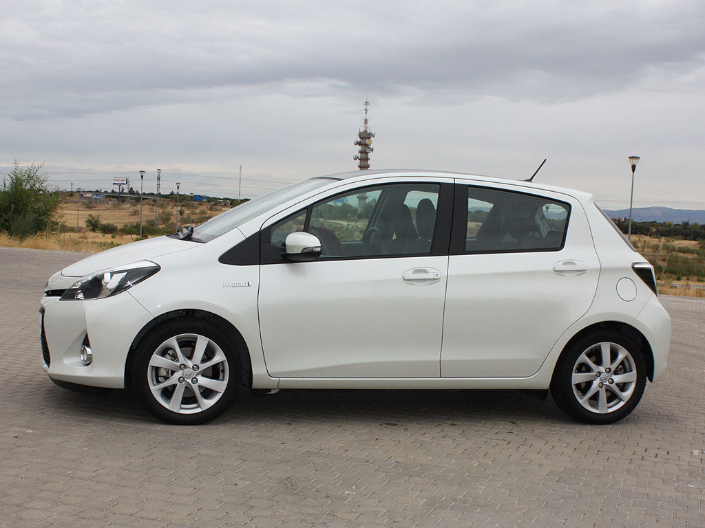 Prueba Toyota Yaris HSD
