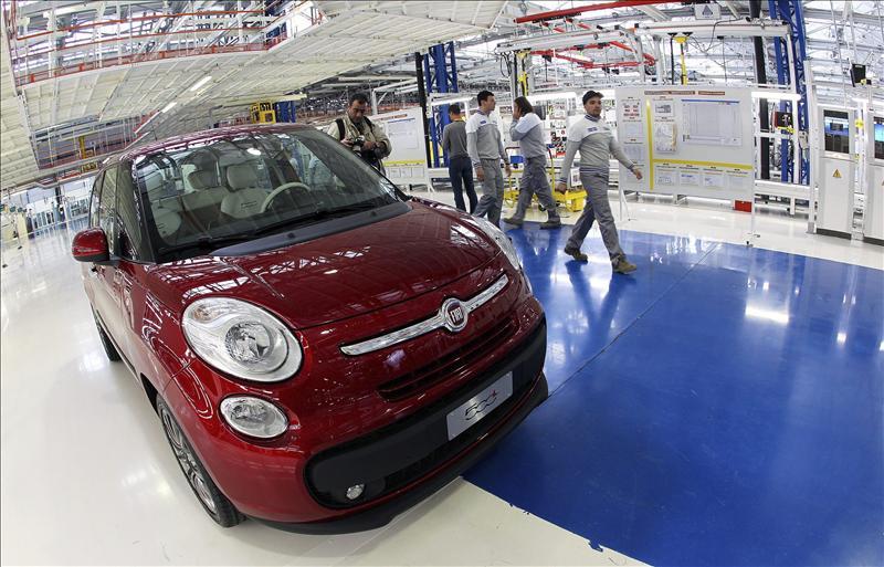El Fiat 500l, en el mercado a partir del 26 de octubre desde 14.700 euros