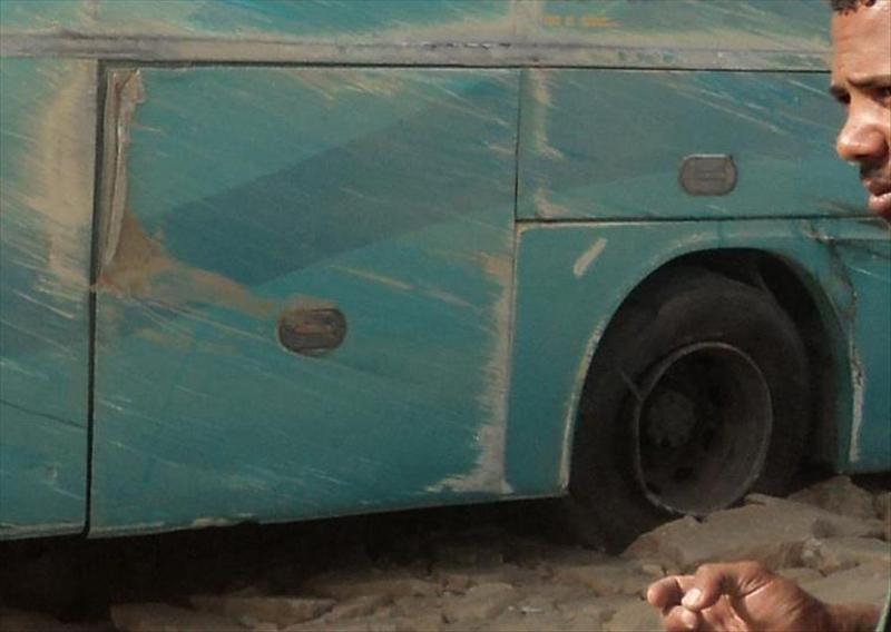 Al menos 33 muertos en un choque de dos autobuses en el Sinaí egipcio