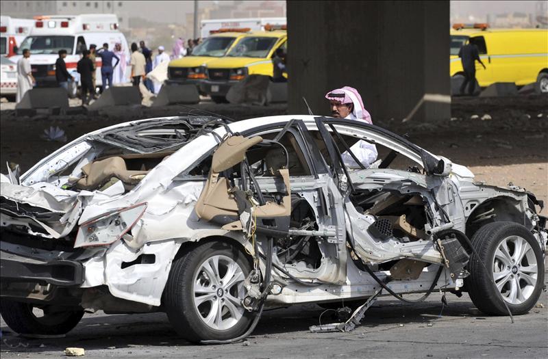 Al menos 22 muertos y 111 heridos en un accidente de camión con gas en Riad