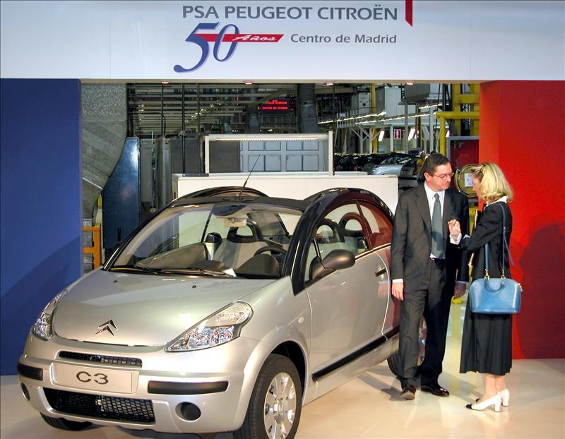 PSA Peugeot Citroen aplicará un ERE de 80 días en la planta de Madrid