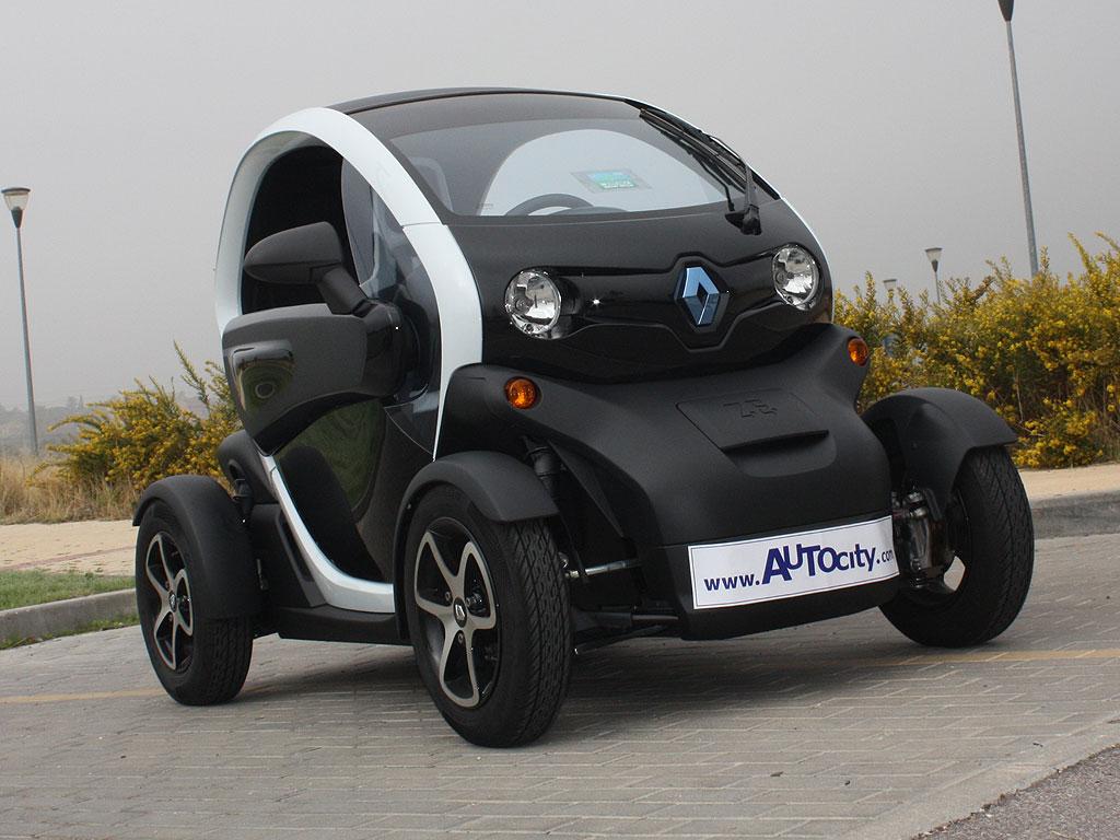 Renault Twizy, a prueba
